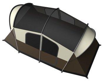 WeatherMaster 10 Tent Top View