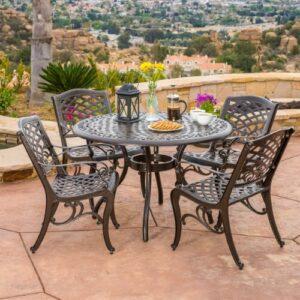 patio furniture 5 piece set