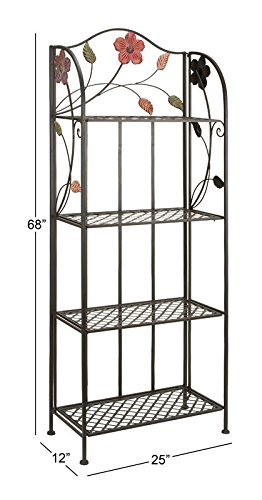 Baker's rack picture with measurements