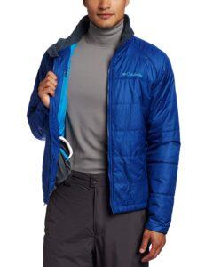 Columbia men's blue fall jacket