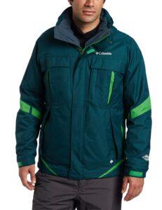 Men's Columbia Blue Forest Winter Coat Men's